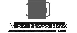 music notes box